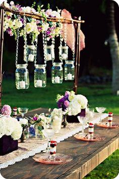 Jar lanterns!