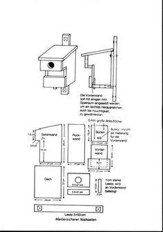 Best Bauplan f r H hlen bewohnende V gel Unsere Meisen sind die bekanntesten H hlen Wohnungsnehmer im Garten und