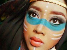 Image result for pocahontas makeup