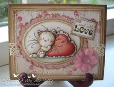 Sending you a little smile :): Published card with Playful Kitten(s)