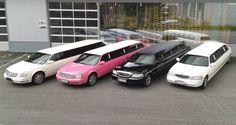 Diese magischen Hochzeitslimousinen in weiß, schwarz oder pink gibts bei Magic Limousines (www.magic-limousines.at) Cadillac, Interesting Stuff, Car, Pink, Autos, Black, Automobile, Pink Hair, Roses