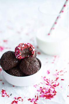 Brigadeiros (Brazilian Chocolate Truffles) | halfbakedharvest.com