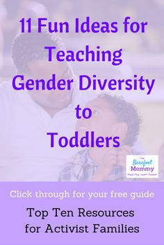 Simple ideas for teaching young children about gender diversity. Book, play, and conversation strategies to prevent bullying of gender non-conforming kids. Parenting Teenagers, Parenting Memes, Parenting Styles, Service Projects For Kids, Senses Activities, Gender Stereotypes, Attachment Parenting, Teaching Tips, Diversity