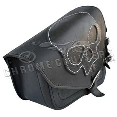 Easily mounts using four leather straps to attach the saddle bag to the bike. Description from ebay.com. I searched for this on bing.com/images