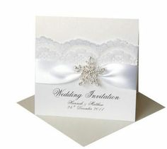 wedding invations | ... Pretty Invitations And Greeting Cards: The Winter Wedding Invitations
