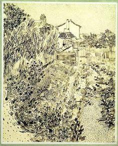 """Van Gogh - """"Garden of Flowers"""""""