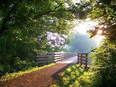 Virginia Creeper Trail - Abingdon, VA to Whitetop, VA