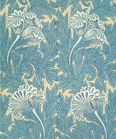 Pattern by William Morris (PATTERNBLOG)
