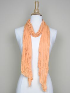 Bright Orange Scarf - $14.00 : FashionCupcake, Designer Clothing, Accessories, and Gifts
