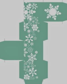Cajas Navideñas, etiquetas y toppers, diseños con Copos de Nieve para Imprimir Gratis.   Ideas y material gratis para fiestas y celebraciones Oh My Fiesta!