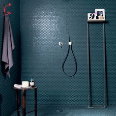 Mosaic tile backsplash for the shower walls - Reed Harris - Boston Petrolio