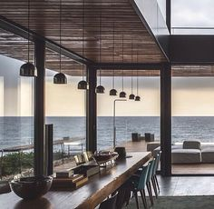 CAANdesign, architecture and home design: the best place for professionals and creative humans to find worldwide architectural and home design projects Exterior Design, Interior And Exterior, Modern Interior, Minimalist Interior, Luxury Interior, Deco Design, Design Salon, Design Design, Modern Design