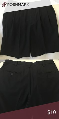 Men's Dress Shorts Very nice dress shorts worn 1 time in great shape. Polyester Dockers Shorts