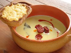 Soup Recipes, Recipies, Cooking Recipes, Hungarian Recipes, Soups And Stews, Bacon, Goodies, Food And Drink, Pudding