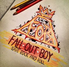 Fall Out Boy fanart (for the folder) (2014)