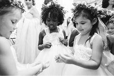 #FlowerGirls | Katherine Webb & AJ McCarronn | Kim Box Photography | #AlabamaWeddings