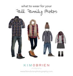 What to wear for family pictures fall
