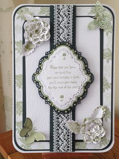 CHIC FLORAL BORDER,CORNER,ICONS Sentimentally Yours  Stamp Sets  Phill Martin