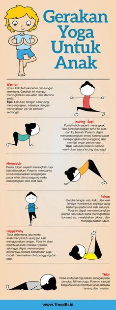 1Health.ID | Ibu & Anak - 6 Gerakan Yoga Untuk Anak