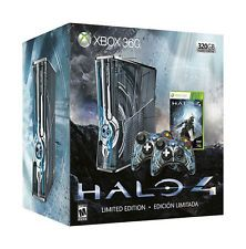 Microsoft Xbox 360 S Limited Edition Halo 4 Bundle 320 GB Glowing Blue