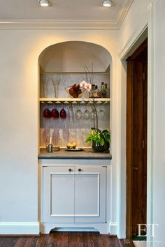 Built in Bar // Emily Taft Interior Design