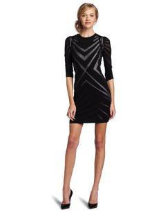 Nicole Miller Women's Long Sleeve Mini Dress, Black, Large Nicole Miller http://www.amazon.com/dp/B008BHCT5S/ref=cm_sw_r_pi_dp_vsZSub1TRPBPA