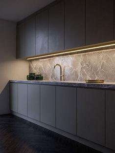 60 Gorgeous Black Kitchen Ideas for Every Decorating Style Black Kitchen Decor, Black Kitchen Cabinets, Kitchen Room Design, Luxury Kitchen Design, Black Kitchens, Home Decor Kitchen, Interior Design Kitchen, Home Kitchens, Kitchen Ideas