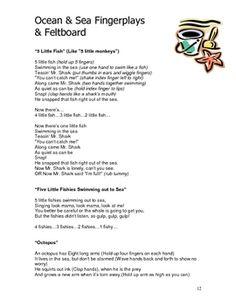 Ocean & Sea Theme: Curriculum Ideas for Preschool or Kindergarten ...