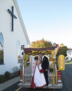 My Firefighter Wedding!