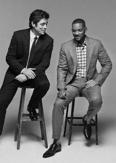 Benicio del Toro, Benicio del Toro and Will Smith for Variety