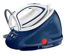 Tefal Pro Express Ultimate Anti-Scale High Pressure Steam Generator Iron – Blue and White Best Steam Iron, Steam Generator Iron, Cord Storage, How To Make Light, Water Tank, Smart Technologies, Aqua, Blue And White, Cooking