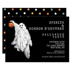 #Adult Halloween Party Invitation - #Halloween happy halloween #festival #party #holiday