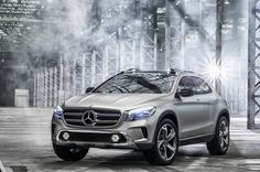 Just recently at the Shanghai Auto Show, Mercedes-Benz pulled back the curtains on its slick new GLA concept. Complete with all of the bells and whistles you'd expect from the company, this SUV packs some additional heat.
