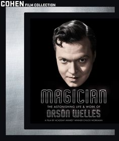 Magician: The Astonishing Life & Work of Orson Welles - Blu-Ray (Cohen Region A) Release Date: Available Now (Amazon U.S.)