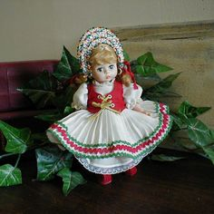 MADAME ALEXANDER DOLL- Vintage Hungarian Doll. I have mine in her original box even!