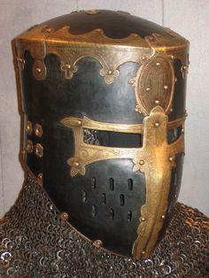 IMG_3932   Crusader helm made by Master Ugo and Master Sigmu…   Flickr