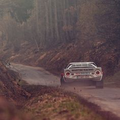 Rally Racing, the realest of all racing. Love the Lancia Stratos