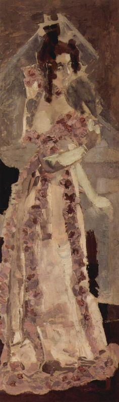 Portrait of Nadezhda Zabela-Vrubel by @mvrubel #symbolism