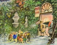 Wind in the Willows by Kenneth Grahame. Illustration by Ernest Shepard