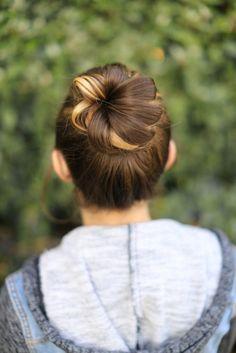 Flower Bun | Cute Girls Hairstyles