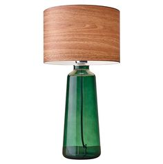 Jade Tall Table Lamp, Green