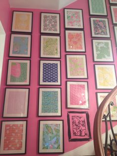 Lilly Pulitzer bedroom Bedroom Ideas, Bedroom Decor, Beach Stuff, Floating Wall, Pink Room, Everything Pink, New Room, Palm Beach, Charleston