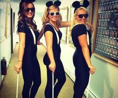 Three Blind Mice costumes i call being this next halloween Raven Kirsch and Maddy Morgan i found our halloween costumes lol (cool costumes college)
