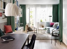 If there's one thing that unites us design lovers, it's IKEA. Be it for first apartments or small spaces, the retailer is a universal favorite, seamlessly inte Ikea Design, Front Room Furnishings, Catalogue Ikea, Nesting End Tables, First Apartment Decorating, Ikea Home, Elle Decor, Living Room Decor, Living Area