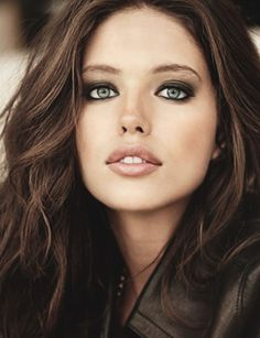 Emily Didonato Calzedonia, beautiful American female model face portrait photography by Leviroy Benedict. T: emilydidonato1 <3