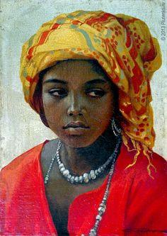 Stanislav Plutenko. 'Mali' from the Girls of Africa series