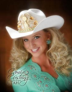 AH-MA-ZZZZING rodeo queen hair! Just look at them rodeo queen wings!  ..I need to learn how to do this with my hair, ASAP.