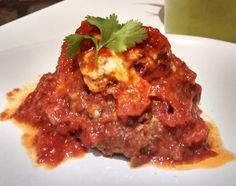 Hi there! Today I am cooking delicious meatballs stuffed with some vegetables and seasoned with tomato sauce. When I cook meatballs, I always make my own ones because I love to stuff them. We can s...