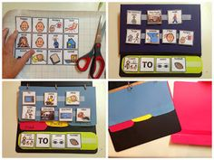 DIY Picture exchange communication system (PECS) for kids with autism or other conditions that cause communication difficulty. So easy and cheap!