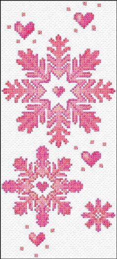 21. #flocons de neige - 34 #motifs de point de #croix en suspens pour #inspirer…